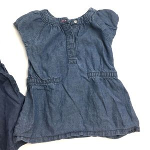 Carter's Shirts & Tops - Carter's Chambray Tunic Tops